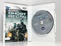 Tom Clancy's Ghost Recon (Nintendo Wii, 2010) Complete In Box, Fast Shipping