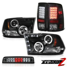 2010-2018 Dodge Ram 1500 5.7L Smoked Third Brake Light Tail Lamps Headlights LED