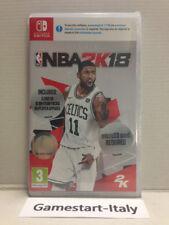 NBA 2K18 - NINTENDO SWITCH - VIDEOGIOCO PAL NUOVO SIGILLATO NEW