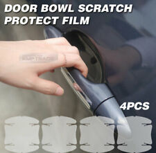 Door Handle Under Cup Anti Scratch Clear Paint Protector Film 4P For All Vehicle