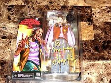 "Texas Chainsaw Massacre 2 Signed NECA 8"" Action Figure Chop Top Bill Moseley COA"