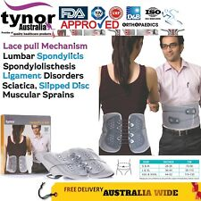 Tynor® Lace Pull Lumbar Belt Brace Post-Ops Back Spinal Fractures Osteoarthritis