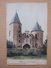CPA LA FERMETE (58) CHATEAU DE CIGOGNE. Ed NIOT à St BENIN D'AZY, cliché Barrage