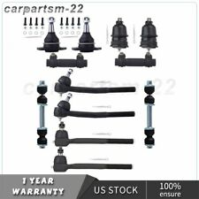 New 12x Inner Outer Tie Rods Front Ball Joints Kit Sway BAr For Buick Cadillac