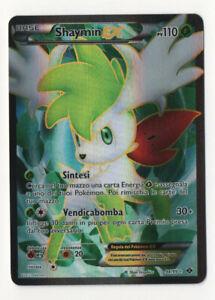Carta Pokemon SHAYMIN EX FULL ART 94/99 N&B Destini Futuri ITALIANO