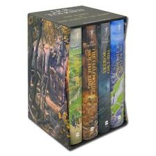The Hobbit & The Lord of The Rings By J. R. R. Tolkien 4 Books Boxed Set HB