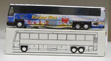 """REDUCED PRICE - Corgi US 98431 Peter Pan Birthday MCI DL-3 Diecast Bank 11"""" Bus"""
