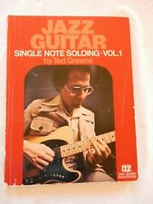 Jazz Guitar Single Note Soloing Vol 1 by Ted Greene FREE SHIPPING