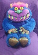 "Vintage Talking My Pet Monster Plush 2001 Toymax WORKS 24"""