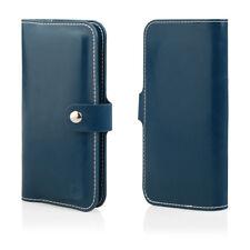 HQ Buch Klapp Tasche Flip Book Hülle Etui für Xiaomi Mi5S BLAU
