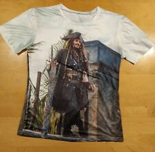 NEW  PIRATES OF THE CARIBBEAN FAN SUB T-SHIRT TEE GAME PRINT US REGULAR FIT/&SIZE