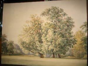 Wien PRATER Dratschmiedt Sophie  1859 nach Ender 50x39 cm GRATIS Prunkrahmen