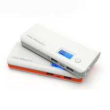 50000mAh LCD Portable Power Bank LED Dual USB External Battery Charger For Phone