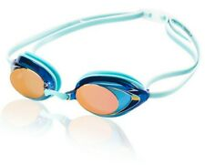 Speedo Competitive Women's Vanquisher 2.0 Mirrored Goggles, Aqua, One Size