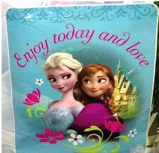 Free Ship - New Girls Disney Frozen Royal Plush Throw