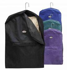 Nylon Leather Chaps Show Clothes Garment Bag Carrier Zipper Accessory Pocket