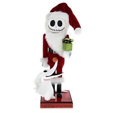 "DISNEY HOLIDAY COLLECTIBLES 14"" NUTCRACKER NIGHTMARE BEFORE CHRISTMAS JACK ZERO"