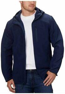 NEW!!! Reebok Men's Hybrid Softshell Jacket (Navy, Medium)