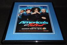 America's Got Talent 2012 NBC Framed 11x14 ORIGINAL Advertisement Howard Stern