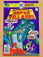 SECRET SOCIETY OF SUPER-VILLANS #1(1976): SIGNED BY GERRY CONWAY - 1ST MANHUNTER