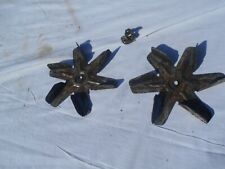 2 Bki Vgg-8 Rotisserie Oven Fan Blades And Nuts