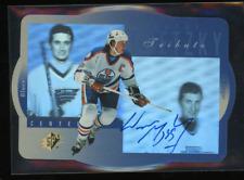 1996-97 Upper Deck SPx #GS1 Wayne Gretzky Auto on Card HOFer Oilers Gem UDA