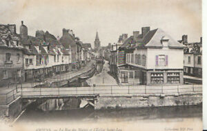 France Postcard - Amiens - La Rue Des Majots Et L'Eglise Saint-Leu - Ref TZ7685