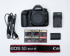 Canon 5d Mark III body with CF cards