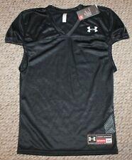 New! Mens Under Armour Practice Football Jersey (Black) - Small, Medium, Large