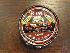 Kiwi 50th Anniversary Shoe Polish Tin