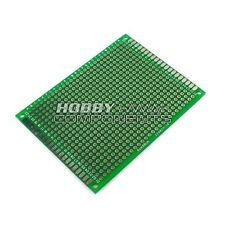 Double-Sided Glass Fiber Prototyping PCB Universal Board (6 x 8 cm)