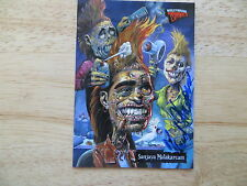 2007 TOPPS HOLLYWOOD ZOMBIES AMERICAN IDOL PARODY CARD SIGNED FRED HARPER ART