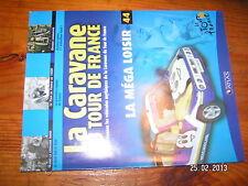 ¤ Fascicule Caravane Tour de France n°44 Mega Loisir O.Lapize Wim Van Est 1930