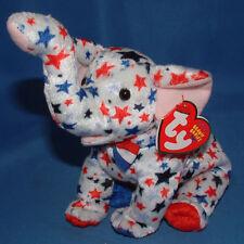 Ty Beanie Baby Righty 2004 - MWMT (Elephant) Patriotic