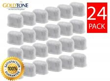 24 Premium Charcoal Water Filters for All Keurig 1.0 2.0 & Breville Coffee Maker