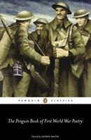 The Penguin Book of First World War Poetry 9780141181905   Brand New