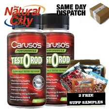 TESTOROID TESTOROD 60s x 2 equates to $58.50/each CARUSO'S + 2 FREE SUPP SAMPLES