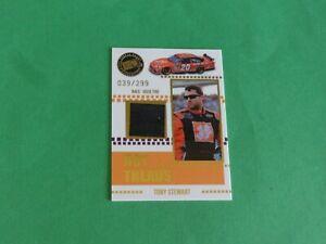 Tony Stewart 2008 Press Pass Gold Hot Treads R-U Tire #039/299