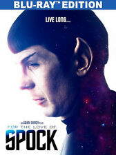 FOR THE LOVE OF SPOCK (Chris Pine) - BLU RAY - Region Free - Sealed