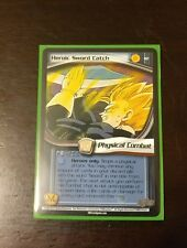 DBZ CCG DragonBall Z Heroic Sword Catch #82 Babidi Saga - Unlimited Rare Card