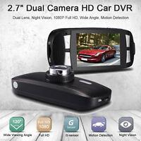 "LCD 2.7"" HD 1080P Car DVR G1W Auto Camera Video Recorder Dash Cam Night Vision"
