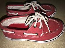 SPERRY Topsider Designer Toddler Infant Girls Deck Shoes Pink 7.5  EUR 25