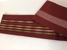 SALE-Vintage  Kimono Hanhaba Obi Belt, Reversible, Royal Stylish #207