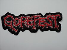 GOREFEST SHAPED LOGO  EMBROIDERED PATCH