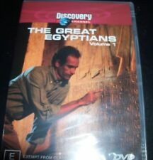The Great Egyptians Volume 1 Discovery Channel (Australia Region 4) DVD – New