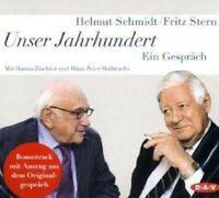HELMUT SCHMIDT - UNSER JAHRHUNDERT - EIN GESPRÄCH 5 CD NEW
