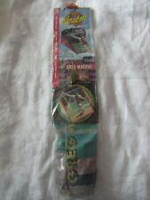 "VTG MLB SLED KITE & BASEBALL CARD 1997 Spectra Star Greg Maddux 28"" toy # 23005"