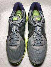 Nike Lunar Eclipse Men's Gray Running Shoes Size-11.5