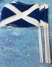 25 Scottish Hand Flag St Andrews Waving Flags European Champships Glasgow