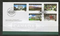 Canada SC # 1903a-d Tourist Attractions FDC. Canadian Bank note Group